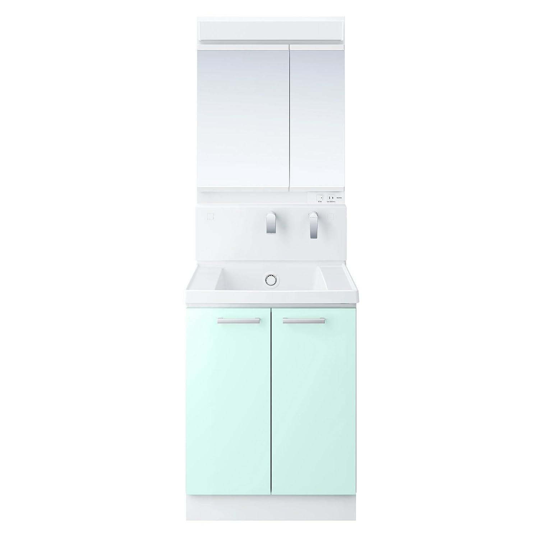 TOTO 洗面化粧台セット(KZ) 600mm 二面鏡+2枚扉 パナシェアクア 寒冷地向け KZ62BZB B072JF5F1J パナシェアクア