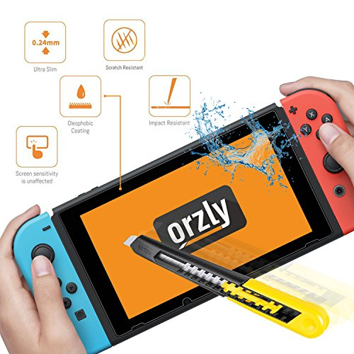 Functions Username: orzly glass screen protectors compatible with nintendo switch Good info