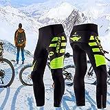 sponeed Men's Bicycle Pants 4D Padded Road
