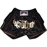 Lumpinee Retro Muay Thai Boxing Shorts LUMRTO-003-Black