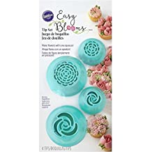 Wilton 418-1707 Easy Bloom Tips, Pack of 4, Small, Blue