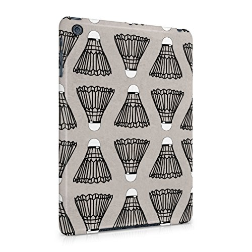 Badminton Shuttlecock pattern Protective Hard Plastic Shell Case Cover For iPad Mini 1 - 4900 Rugby