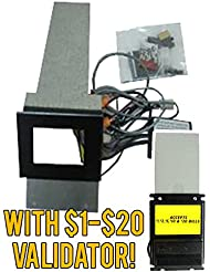 Capital Vending Module Update Kit For Rowe Model BC12 With A Refurbished Mars AE2681 Or AE2881 Dollar Bill Acceptor Offers Four Way Acceptance Of 1 20