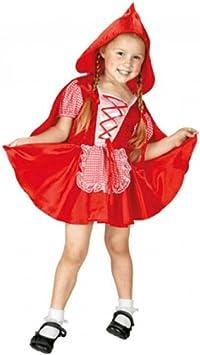 Disfraz niña Caperucita Roja - talla 3 - 4 años: Amazon.es: Juguetes ...