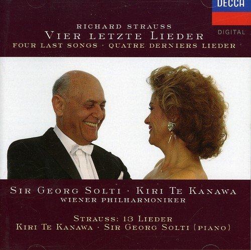 Richard Strauss: Vier letzte Lieder (Four Last Songs) ~ Kanawa / Solti