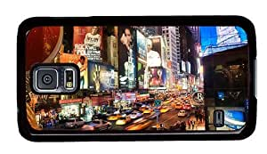 Hipster Samsung Galaxy S5 Case uncommon cover NYC 5th Avenue PC Black for Samsung S5