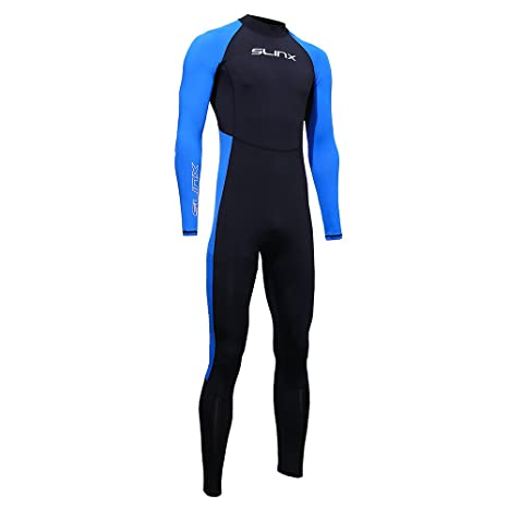edc4b66e86 Image Unavailable. Image not available for. Color: Lixada SLINX Unisex Full  Body Diving Swimming Surfing Spearfishing Wet Suit UV Protection Snorkeling  ...