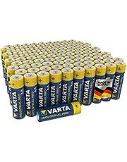 VARTA Industrial Batterie AA Mignon alkaliska batterier LR6 - 100-pack, Made in Germany