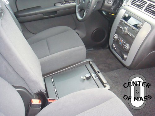 Console Vault safe for Silverado LT1/Avalanche LS (Under Seat Console) 2008-2012. GMC Sierra (Under Seat Console) 2008-2012 1014