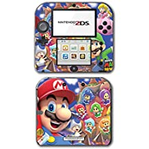 New Super Mario Bros 3D Land World Sprixie Princess Fairy Video Game Vinyl Decal Skin Sticker Cover for Nintendo 2DS System Console