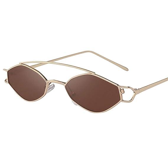URIBAKY Gafas de sol Gafas de Sol, Mujer Metal Marco ...