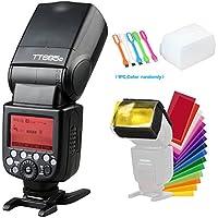 Godox TT685C TTL 2.4GHz GN60 HSS High-Speed Sync 1/8000sFlash Speedlite light for Canon EOS Cameras E-TTL II auotflash +Diffuser & Filter +USB LED Free gift