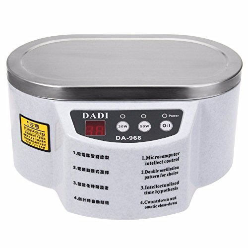 DADI968 220V/110V Mini Ultrasonic Cleaner Bath For Cleanning Jewelry Watch Glasses Circuit Board ultrasonico 1pc