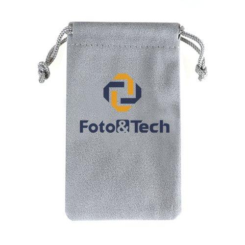 - Foto&Tech Multipurpose Soft Black Velvet Pouch Bag 2.35