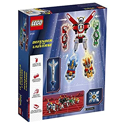 LEGO Ideas Voltron 21311 Building Kit (2321 Pieces), Standard Packaging: Toys & Games