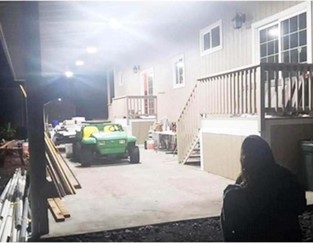 E26//E27 10000LM Deformable Four Leaf Garage Lights,Indoor use for Led Shop Lights,Workshop Light,Garage Work Lights Led Garage Lights,100W Garage Light