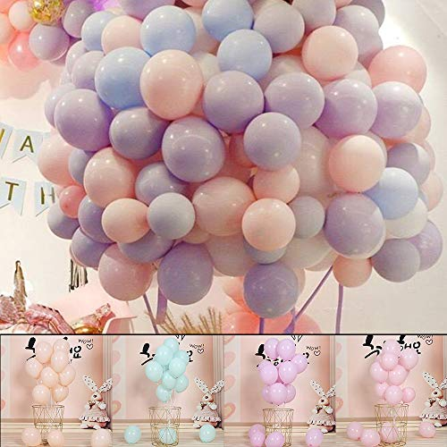 100 pcs Latex Party Balloons 10 Thicken Colorfulworld Balloons Assorted Color For Birthday/Party/Christmas/Weddings And Holidays Party Decoration