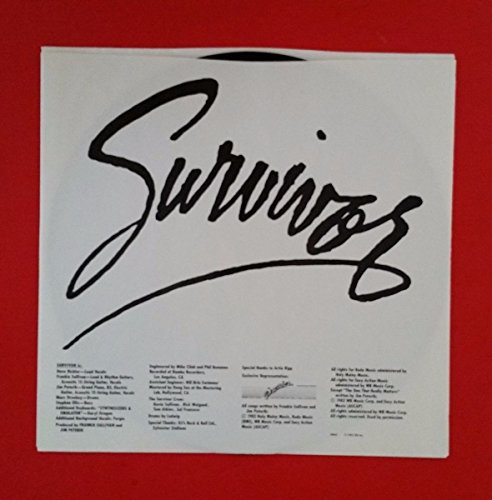 SURVIVOR Eye Of The Tiger LP Vinyl VG+ Cover Shrink 1982 FZ 38062 Rocky 3