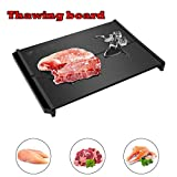 Fast Defrost Tray, Elevin(TM) Fast Defrosting Tray Frozen Meat Defrost Food Thawing Plate Safe Board Tool New