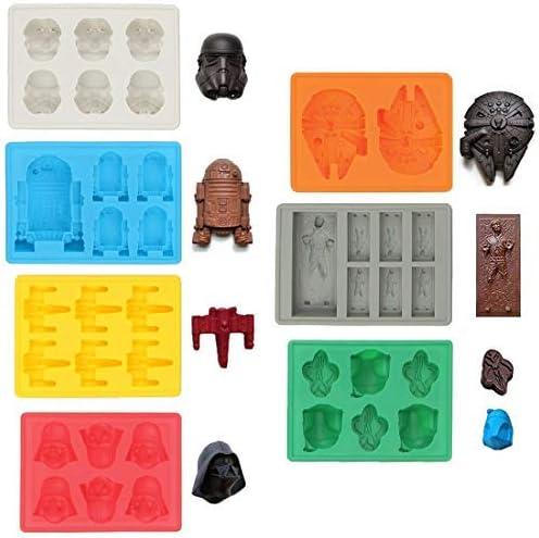 Moldes de silicona para bandeja de hielo en forma de cubitos de ...