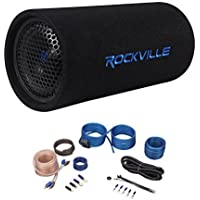 Jeep Wrangler 87-06 6.5 Powered Subwoofer Sub Bass Tube+MP3 Input+Amp Kit