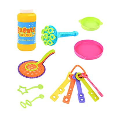 TOYANDONA 1 Set Bubble Stick Creative Bubble Wand Toy Bubble Blower Indoor Outdoor Bubble Toy Party Favor: Toys & Games