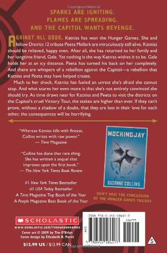 "book report the hunger games catching fire Book review: catching fire  the monster report - august 26  from your review i definitely think i will love this book to because ""hunger games"" was ."