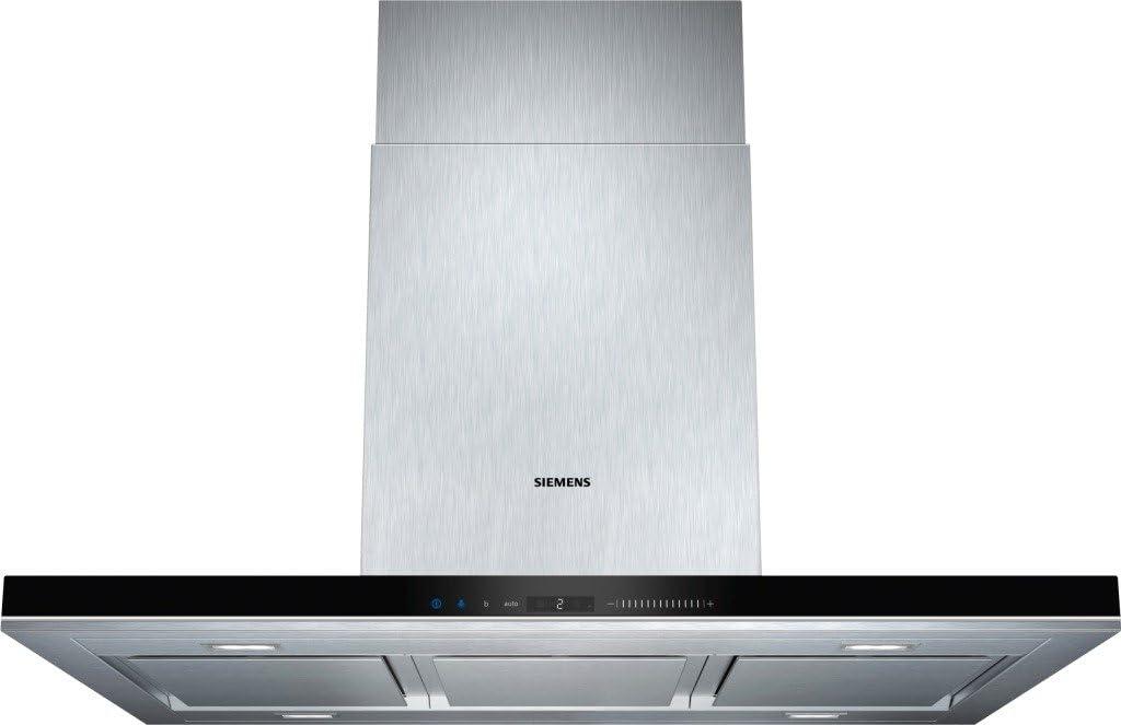 Siemens LF91BA582 - Campana (Canalizado/Recirculación, 710 m³/h, 430 m³/h, Isla, LED, Acero inoxidable): Amazon.es: Grandes electrodomésticos
