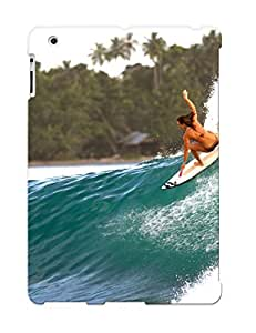 Crooningrose Case Cover Protector Specially Made For Ipad 2/3/4 Surfing Surf Ocean Sea Waves