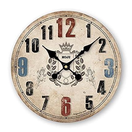 Damjic Los Países Europeos Clásicos Americanos Salón Decoración Minimalista Reloj De Pared Reloj De Pared Reloj