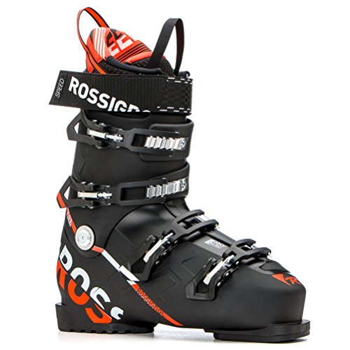 (Rossignol Speed 120 Ski Boot - Men's Black/Red 26.5)