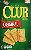 Keebler Club Crackers Original, 13.7 Oz. (Pack of 3)
