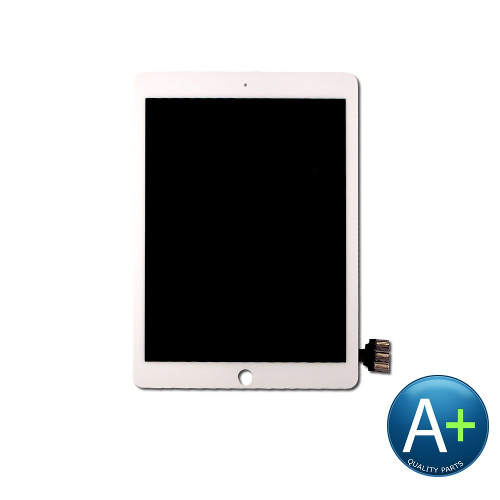 Touch Screen Digitizer and LCD Compatible with Apple iPad Pro 9.7'' - Includes IC Chip White (A1673, A1674)