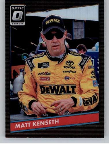 2019 Donruss Racing Optic Parallel #62 Matt Kenseth DeWalt/Joe Gibbs Racing/Toyota 1986 Retro Official NASCAR Trading ()