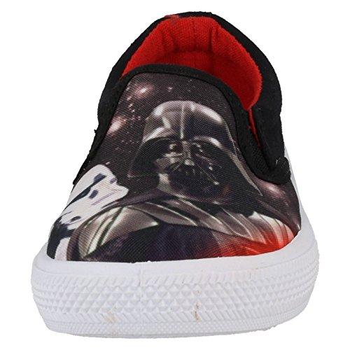 Star Wars - Sandalias con cuña para chico negro
