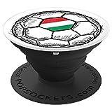 Hungary Hungarian Flag Design On Soccer