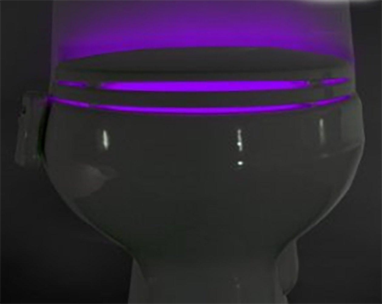 Ideal products luce per il wc adattabile a qualsiasi modello di