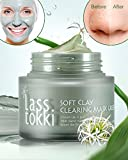 Clay Mask, Lasstokki Green Clearing Clay Mask, Blackhead Removal Moisturizing Face Mask, Gently Exfoliating Mud Mask Without Drying Out Your Skin, Korean Skin Care