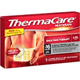 ThermaCare Lower Back & Hip Heat Wraps, Large-XL, VarietySize 9-Count Total