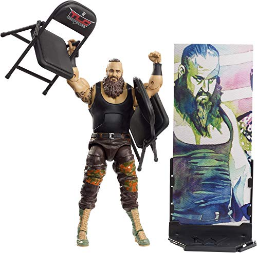 - WWE Elite Collection Series # 62 Braun Strowman Action Figure