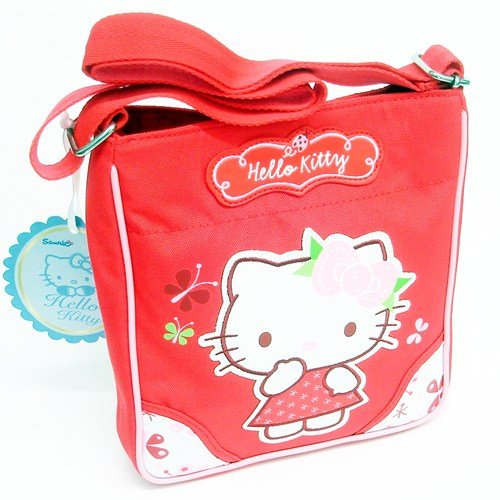 Hello Kitty Nordic Flowers Tracolla