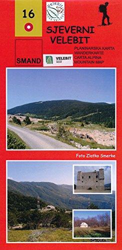 Velebit North (Croatia) 1:25,000 Hiking Map SMAND