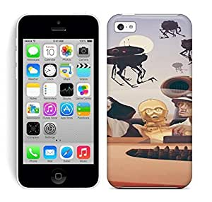 Best Power(Tm) HD Colorful Painted Watercolor Fear And Loathing On Tatooine Hard Phone Case For Iphone 5C