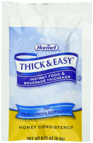 Hormel Thick & Easy, Instant Food Thickener (Honey Consistency), 0.23-Ounce Packets (Pack of - Nectar Thickener