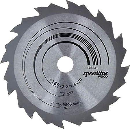 24 Grey Bosch Professional 2608640799 Lame 190 x 20//16 x 2,6 mm