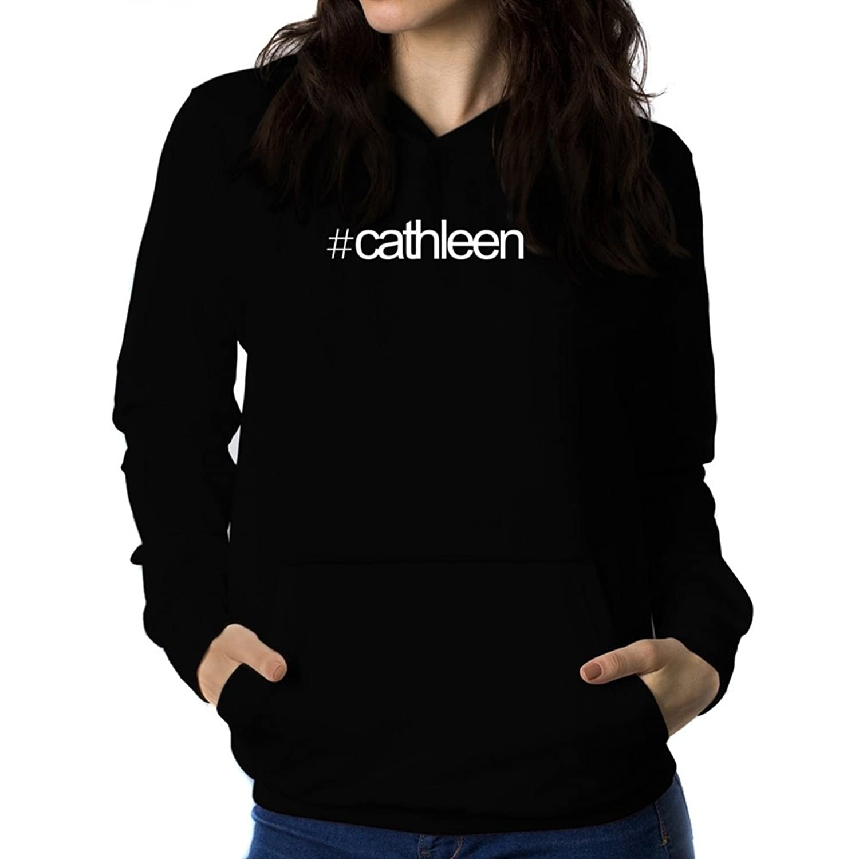 Sudadera con capucha de mujer Hashtag Cathleen alta calidad ... 044efb0b8d83