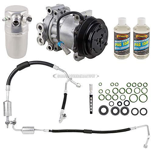 AC Compressor w/A/C Repair Kit For Chevy C1500 Suburban GMC C1500 Suburban - BuyAutoParts 60-81778RK NEW