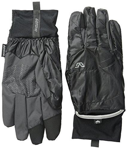 - Gordini Men's Stash Lite Touch Gloves, Black, Large
