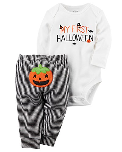 Halloween Outfits Boys (Carter's Baby 2 Piece Bodysuit Pants Set 12 Months)
