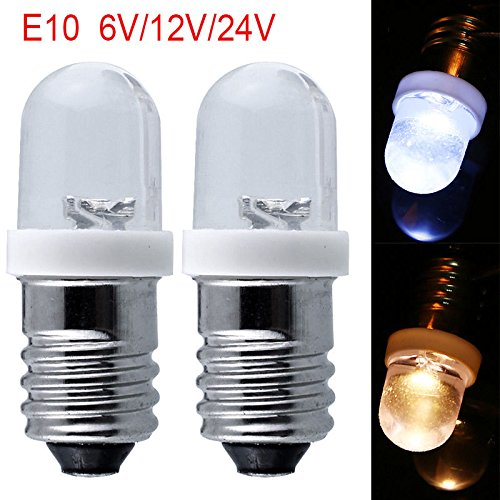 Lampe Signal 612 Cube Ampoules Mini Dc De Lugii D'avertissement E10 jLR54A